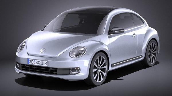 volkswagen beetle 2012 model