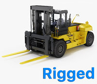 Forklift Komatsu GX20 Series Rigged
