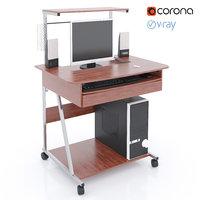 3D computer desk samsung genius