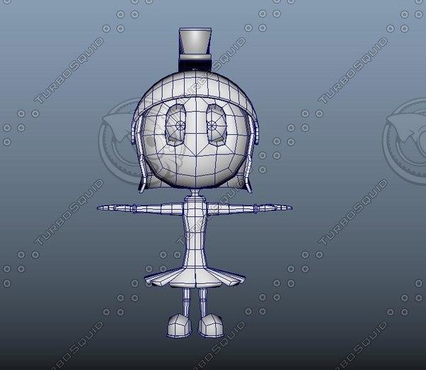 3D cartoon games model