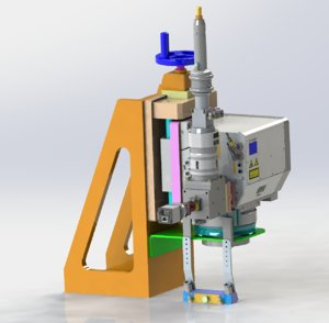3D z axis fine-turning laser