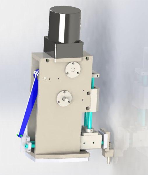 cams mechanism model