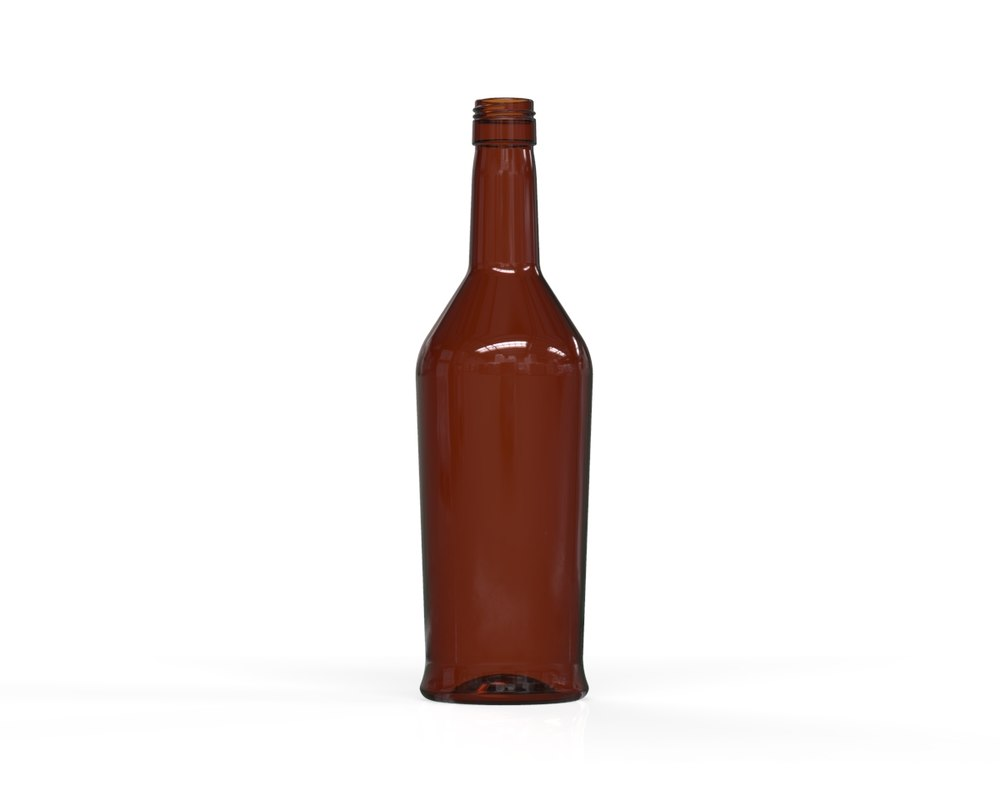 glass bottle 56 3D