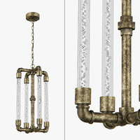 3D model chandelier 740042 condetta lightstar