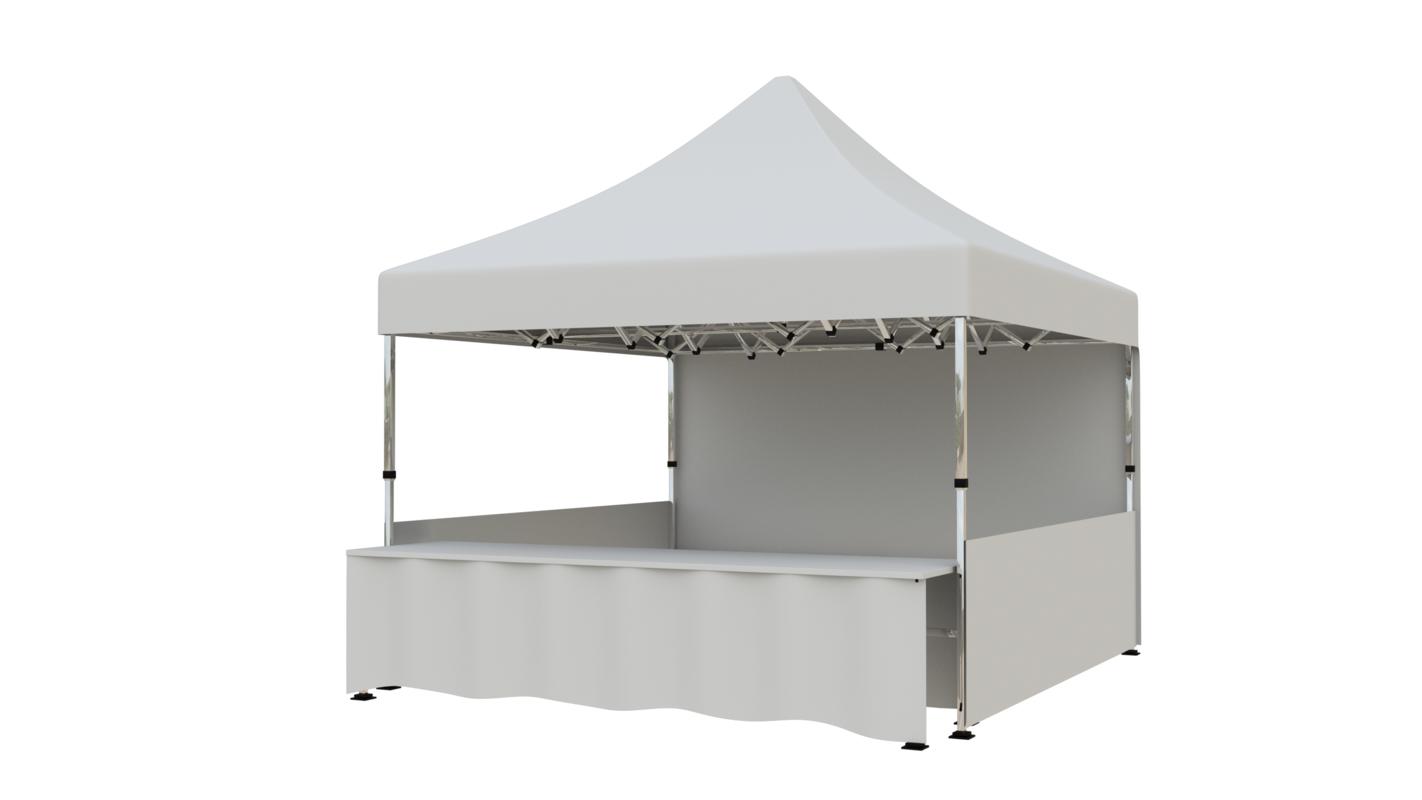 tent 4x4 3D model