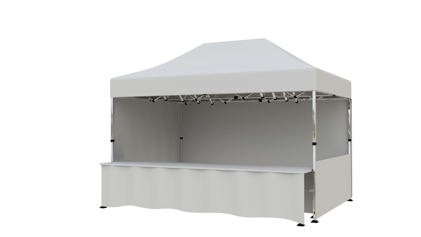 tent 4 5x3 m 3D model