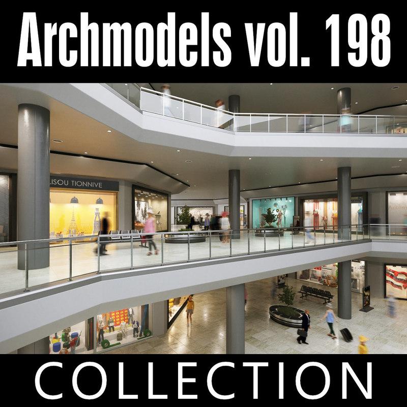 archmodels vol 198 shop 3D model