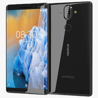 3D realistic nokia 8 sirocco