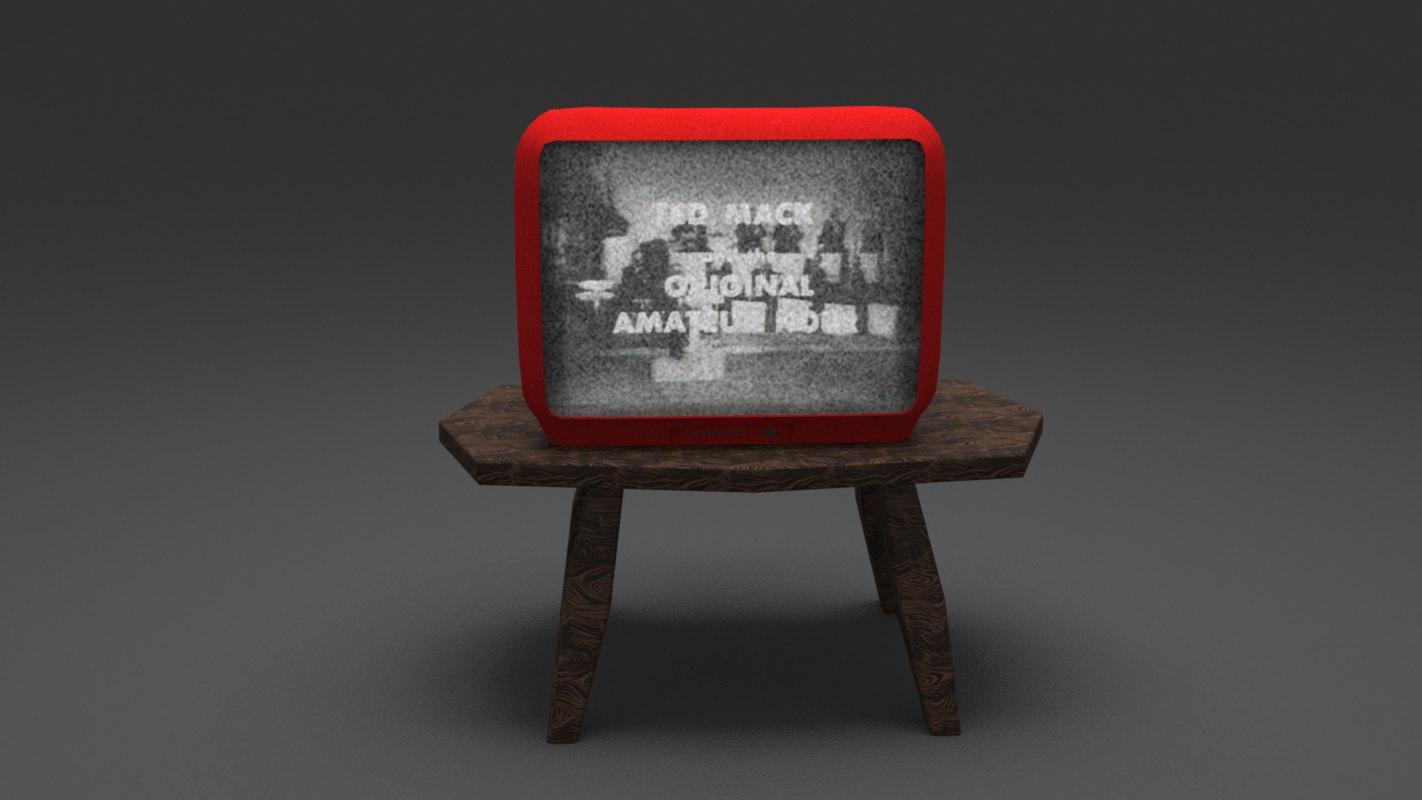 tv unit 3D