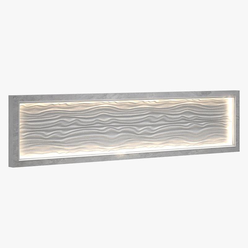 decorative modular panel 3D