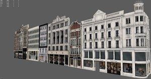 buildings london 3D