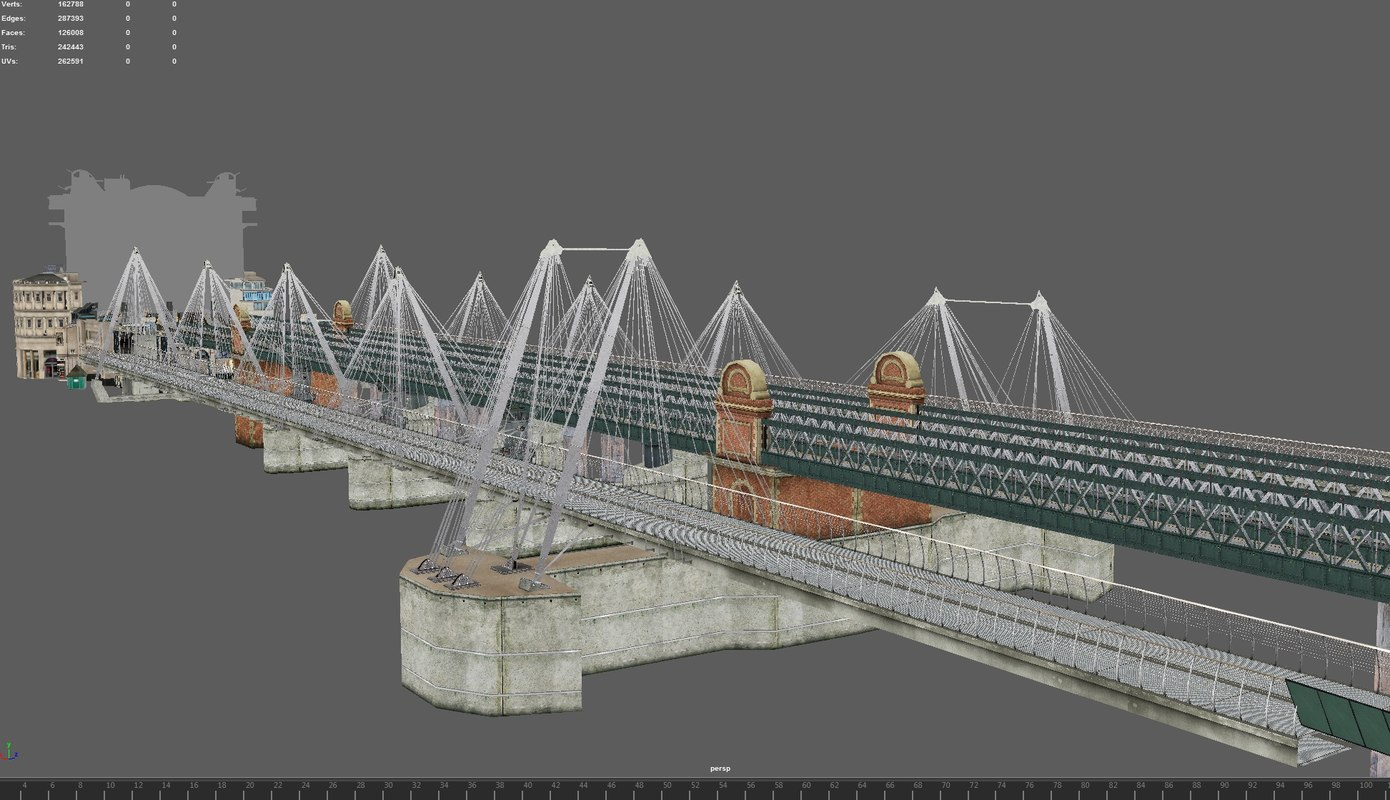 london charing cross 3D