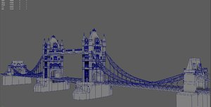 bridge london 3D model