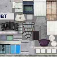 london set landmark 3D model
