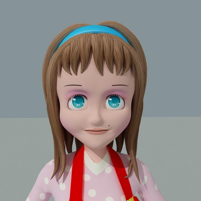 mama toon model face morph