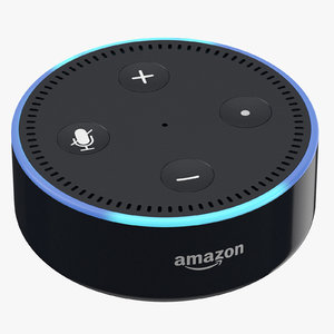 3D amazon echo dot newest
