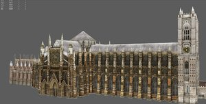 abbey london 3D model