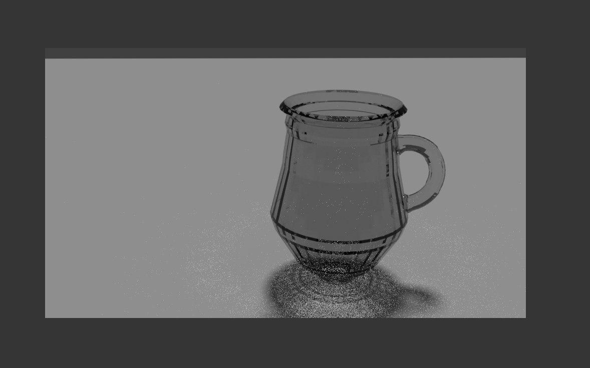 3D jar water model