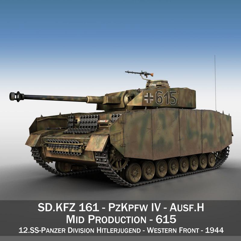 panzer iv pzkpfw model