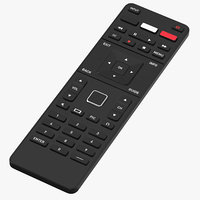 generic remote controller 02 3D model