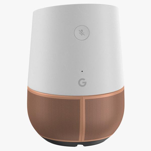 google home newest gen 3D