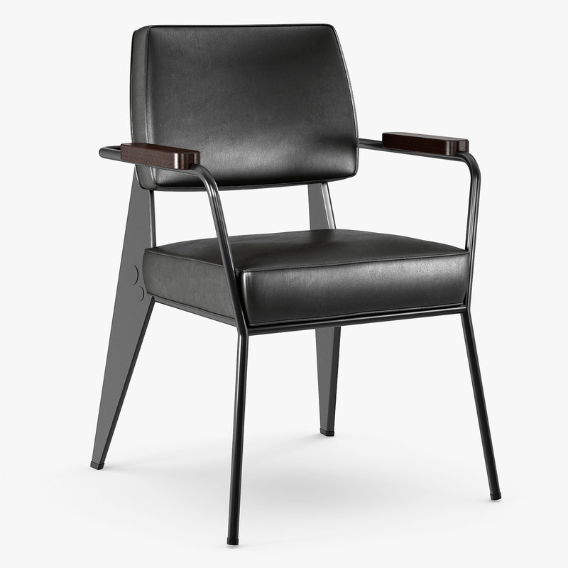 vitra - fauteuil direction 3D model