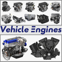 Vehicle Engines Big Collection