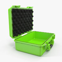 3D model open waterproof case