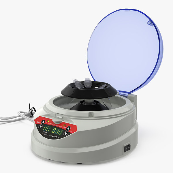 3D lab mini centrifuge model