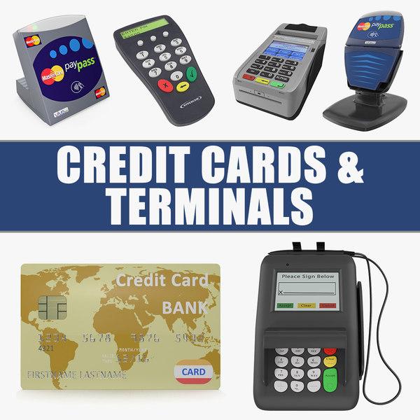 3D credit cards terminals mastercard