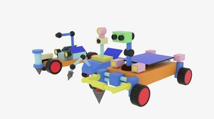 moon rover model
