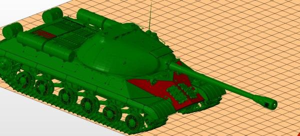 tank 3 3D model