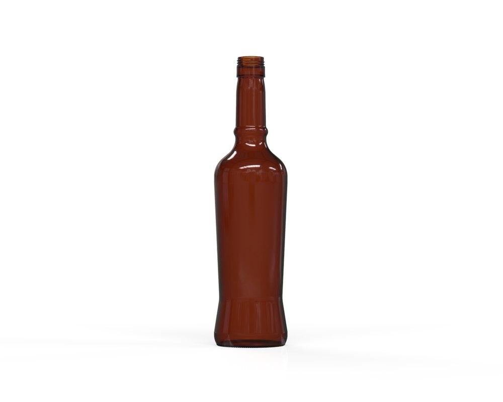 3D glass bottle 66