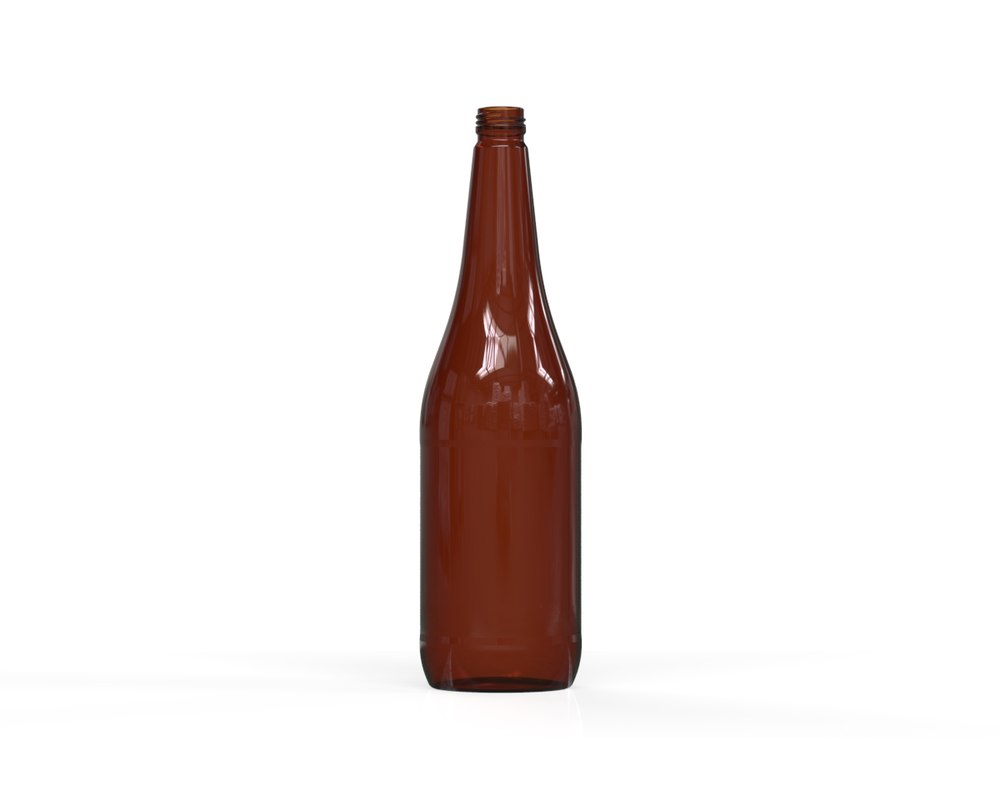 3D glass bottle 69 model