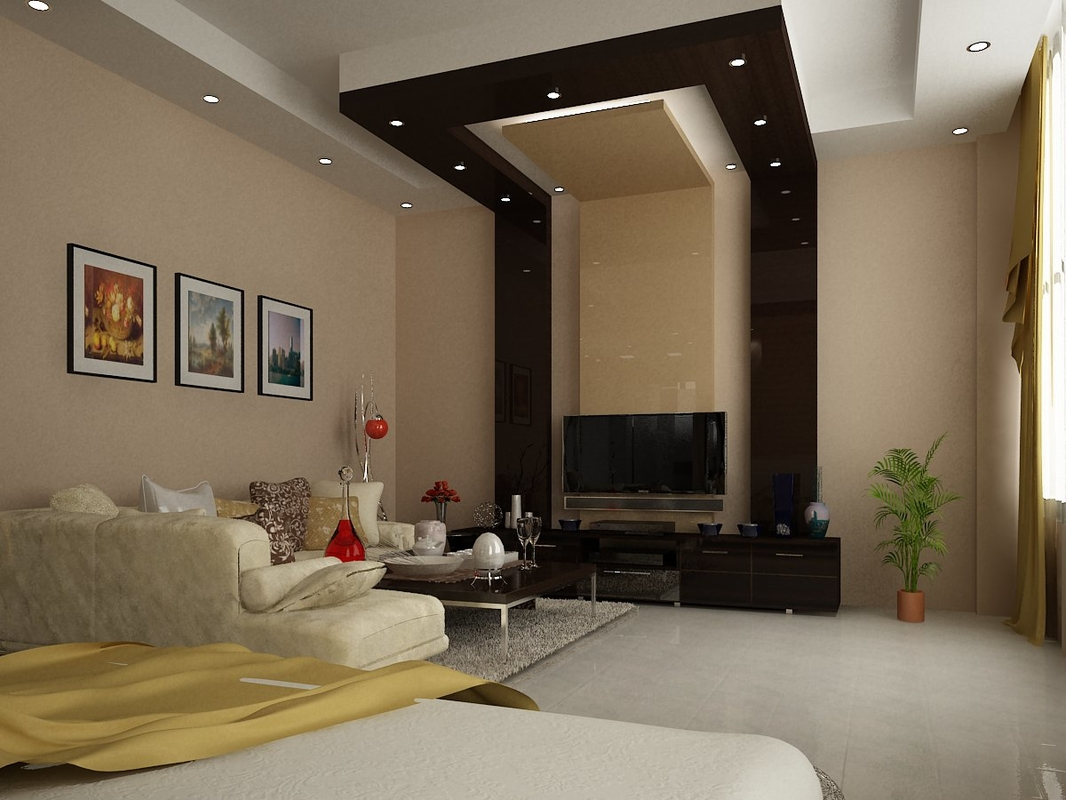 3D model master bedroom