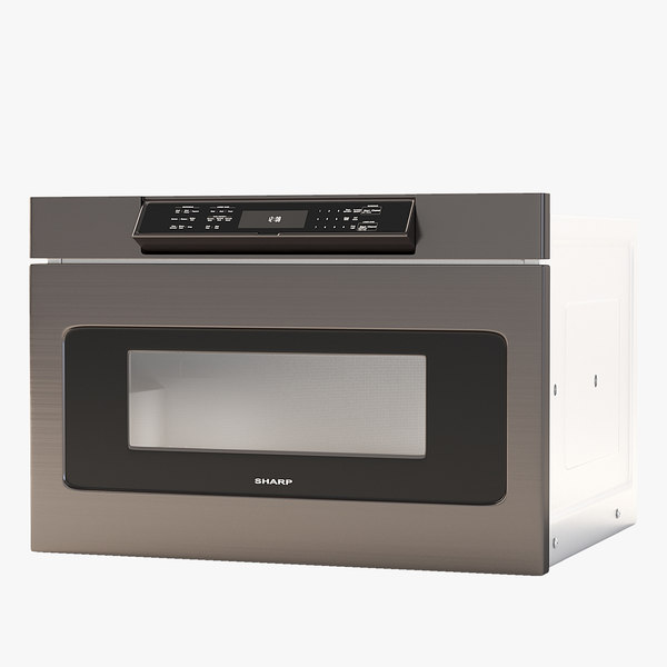 3D microwave stainless model