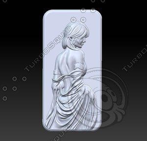 3D model beauty oriental