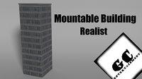 building realistic 3D model