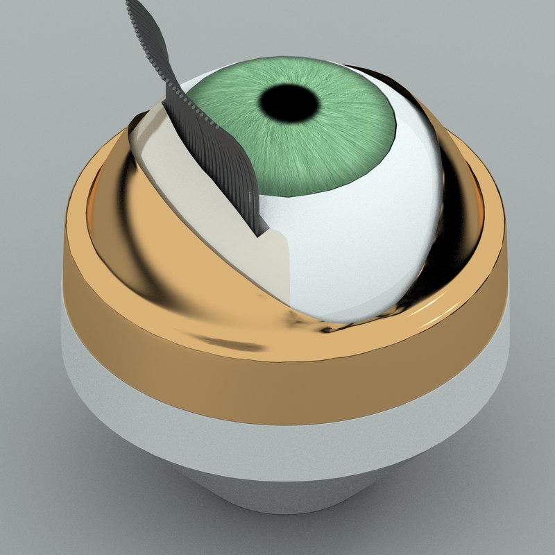 doll eye mechanism 3D