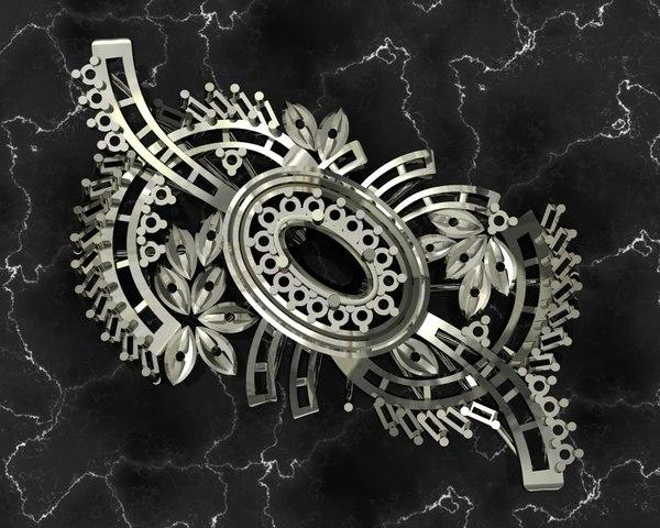 3D design jewelry model