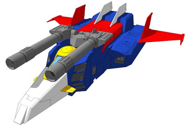 3D model g-fighter fighter
