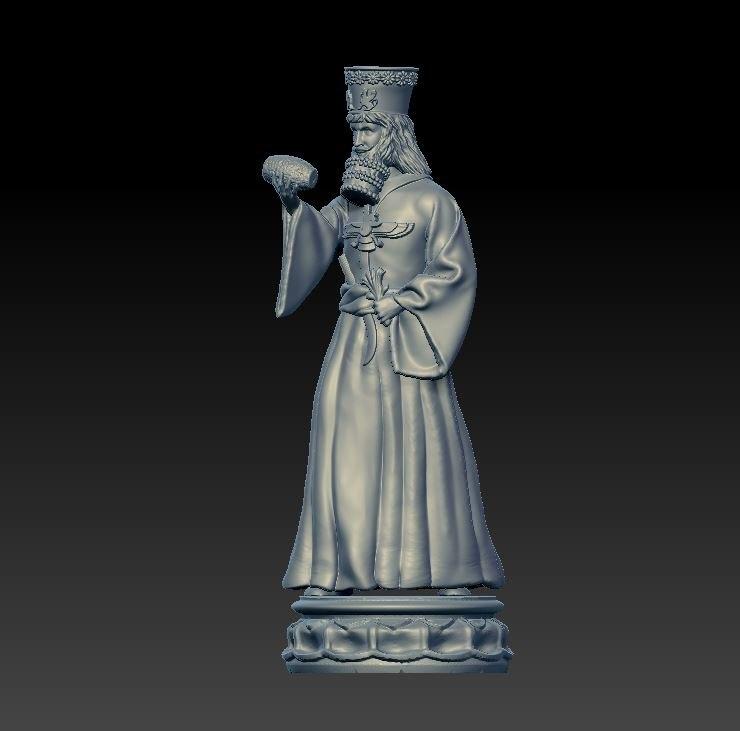chess king 3D model