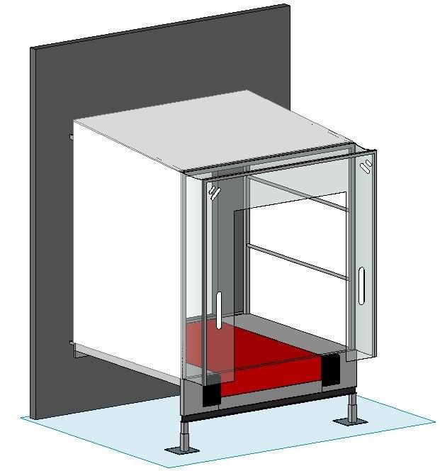 dock house door 3D model