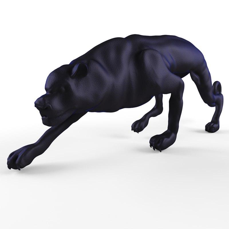 3D decorative figurine cat