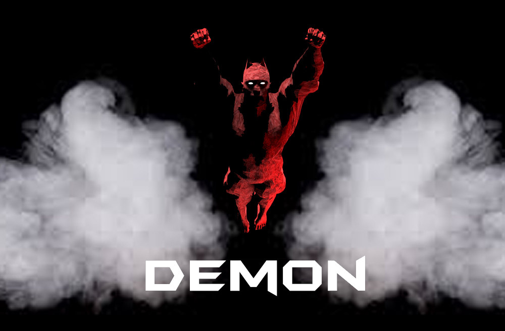 demon red 3D