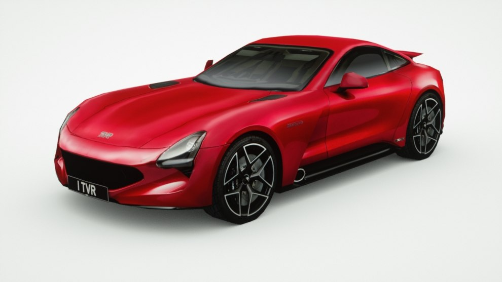 3D tvr griffith model