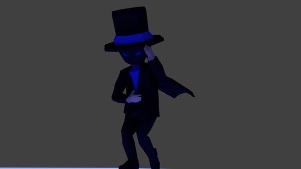 3D dark magician