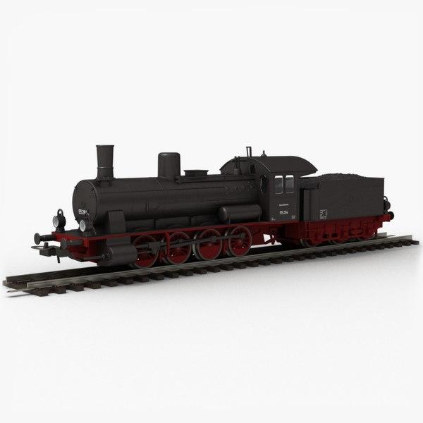 piko toy train locomotive 3D model