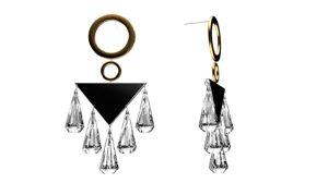3D model earring