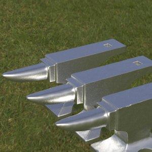 3D anvil tool industrial